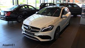 mercedes amg 45 review mercedes amg a45 2017 test drive in depth review interior