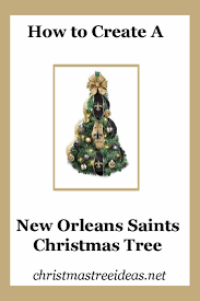 new orleans saints christmas tree home decorating interior