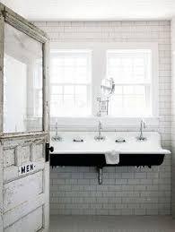 koehler brockway sink tile bathe pinterest trough sink