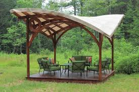 essential garden curved pergola with canopy johnson patios