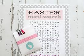printable easter word search the creative