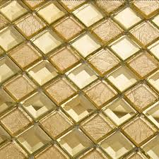 Mirror Tiles For Walls Gold Mirror Glass Diamond Crystal Tile Patterns Square Wall