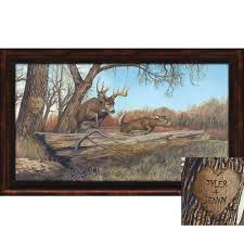 Whitetail Deer Home Decor by Personalized Whitetail Deer Framed Prints