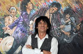 ronnie wood s including 300 000 he painted up for sale