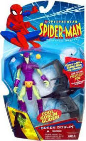 spectacular spider man animated series green goblin action