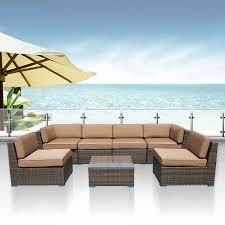 Rattan Wicker Patio Furniture Select Patio Furniture Set Is Good U2014 The Home Redesign