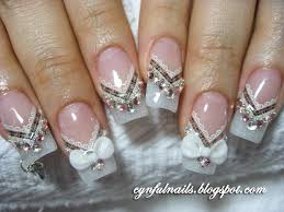 nail designs bridal nails nail ideas pinterest bridal