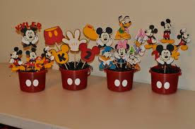 mickey mouse center pieces occ obsessive compulsive crafting mickey mouse centerpieces