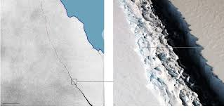Break Up Letter Read In A Dramatic Voice An Iceberg The Size Of Delaware Just Broke Away From Antarctica