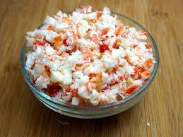 easy crab salad