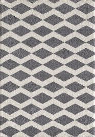 Geometric Area Rug by Silky Shag 5904 900 Grey Area Rug By Dynamic Rugs