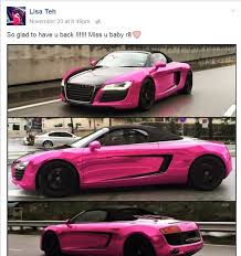 Teh Zaitun malaysian teh s chrome pink bentley the coverage