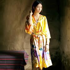 robe de chambre kimono pour femme robe de chambre en soie pour femme inspirations avec acheter soie