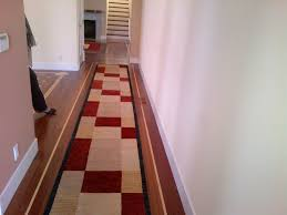 Modern Rugs San Francisco Modern 20 Foot Hallway Runner In Clients San Francisco Entry