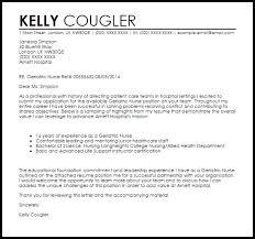 experienced nurse cover letter trendy sample cover letter for