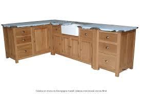 caisson cuisine bois meuble sous evier en bois caisson cuisine bois massif facade meuble