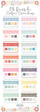 color combos 14 fresh color combos angie sandy art licensing design