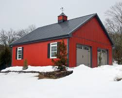 red barn pole barn home sweet home pinterest red barns