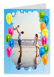 balloon sky happy birthday cards send real postcards online