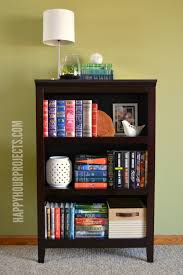 how to style a bookcase how to style a functional bookshelf happy hour projects
