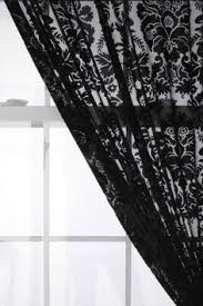 Black And White Damask Curtain Five Queens Court Warwick Cream Damask Curtain Panel Pair 50x84