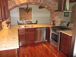 rta cabinet store brandywine kitchen cabinets with an arched pass