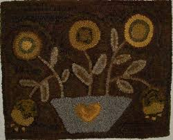 Country Primitive Rugs 166 Best Rug Hooking Images On Pinterest Penny Rugs Rug