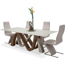 aico michael amini trance rapture rectangular dining set for from