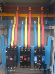 circuit breaker installation for three phase supply 3 phase