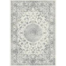 Black And Cream Rug Dynamic Rugs Ancient Garden Silver Grey 6 Ft 7 In X 9 Ft 6 In