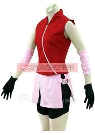 Sakura Halloween Costume Haruno Sakura Shippuden Cosplay Costume Naruto Haruno Sakura