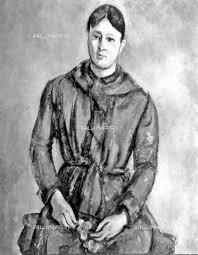 Madame Cezanne In A Red Armchair Alinari