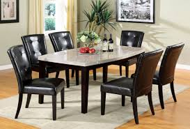 marble high top table dining room round glass top dining table with marble top dining