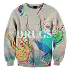 sweater drugs adventure time drugs guys adventure time