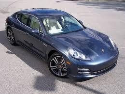 porsche car 4 door 2010 porsche panamera 4s in yachting blue with two tone leather