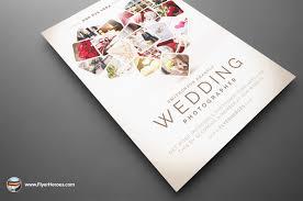 Wedding Pamphlet Template Wedding Photographer Flyer Template On Behance