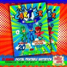 pj masks invitations pj masks party invitations pj masks birthday