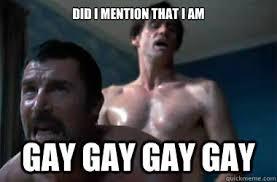 Gay Gay Gay Meme - did i mention that i am gay gay gay gay i love you phillip