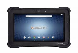 android tablet xplore xslate d10 android tablet for rugged working conditions