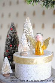 Christmas Decorations To Make Yourself - paper mache christmas boxes town u0026 country living