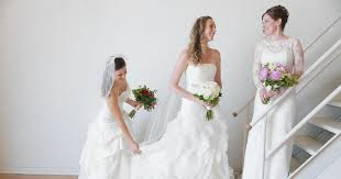 wedding dresses for rent site lets brides on a budget rent pre owned wedding gowns ny