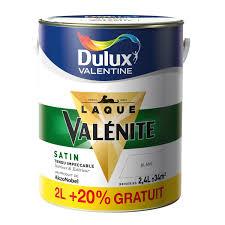 peinture laque pour cuisine peinture valénite dulux blanc 2 l 20 gratuit leroy