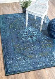 inspired rugs traditional vintage inspired overdyed fancy blue area rugs 9