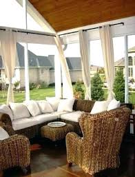 Sun Porch Curtains Screened In Porch Furniture Small Screened In Porch Screened In