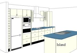 how to design a kitchen island layout kitchen layout with island fitbooster me