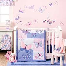 Lavender Butterfly Crib Bedding Butterfly Baby Bedding Lavender Butterfly Crib Bedding Collection