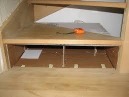 fabriquer tiroir sous lit album tiroirs sous marche escalier en carton kakinou création