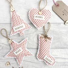 Personalised Christmas Ornaments - personalised christmas decorations sheerluxe com
