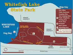 Whitefish Montana Map by Whitefish Lake State Park Maplets
