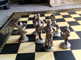 decorations don quixote chess set from as wells as don quixote